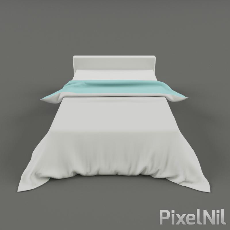 BedCloth 02 P3D 05 render 1
