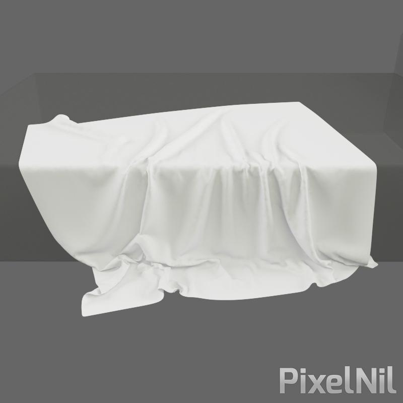 BedCloth 03 P3D 05 Render 3