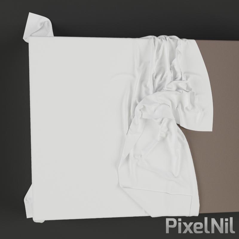 BedCloth 12 P3D 05 Render 2