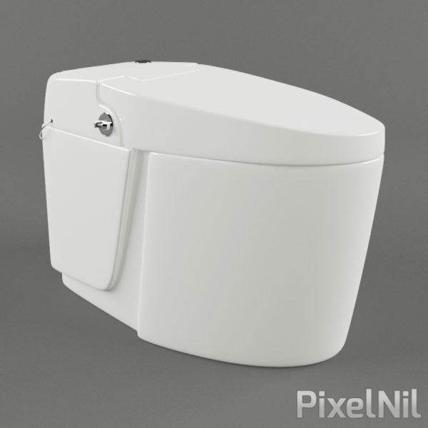 Wc 01 p3d13 pixelnil 3dmodels - Model deco wc ...